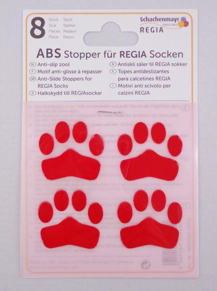 ABS-Stopper Rot für Regia Socken