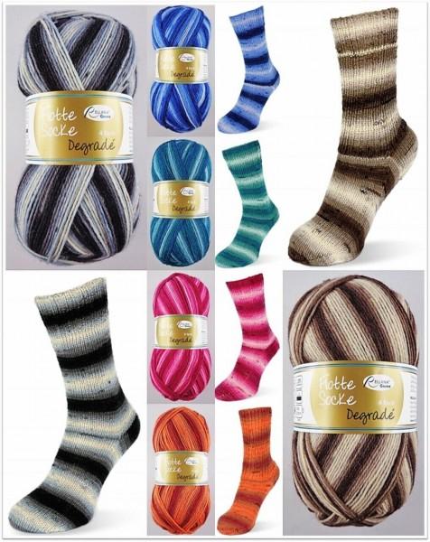 Rellana Flotte Socke Degradé, 100g Sockenwolle 4-fach