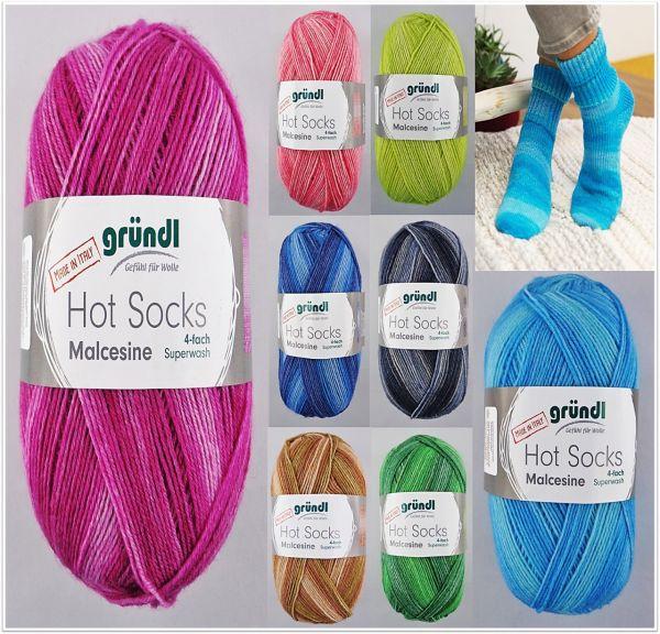 Gründl Hot Socks Malcesine, 100g Sockenwolle 4-fach