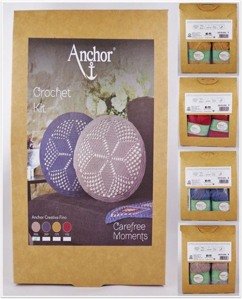 Anchor Crochet Kit Carefree Moments