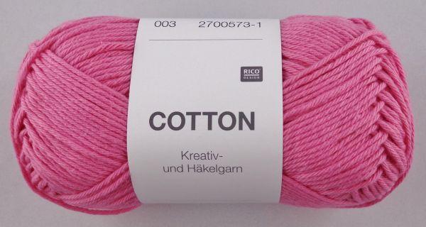 50g Rico Cotton Kreativ- & Häkelgarn