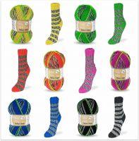 Flotte Socke Perfect Stripes 4-fach, 100g Sockenwolle