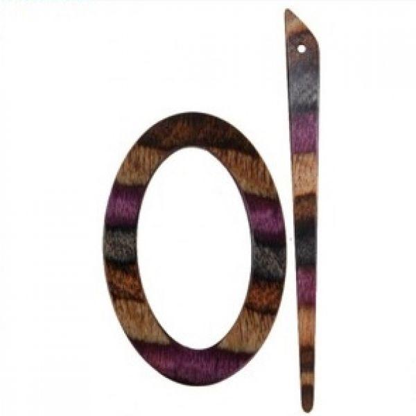 Knit Pro Lilac Shawl Pins ( Tuchnadeln No. 20827)