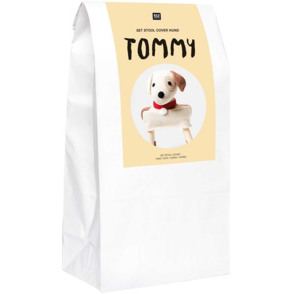 "RICO SET STOOL COVER HUND ""TOMMY"""