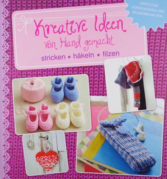 Kreative Ideen-von Hand gemacht-stricken-häkeln-filzen