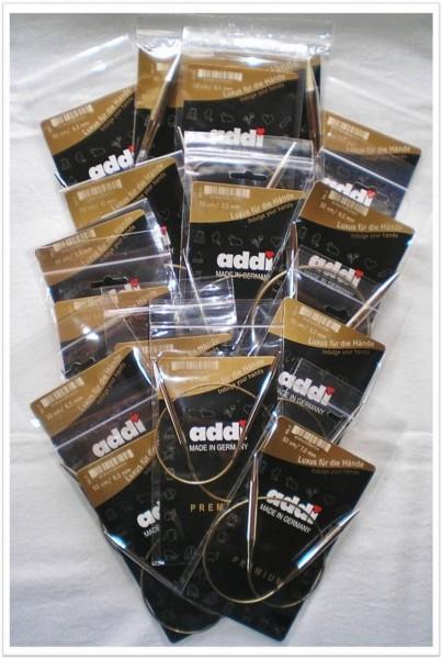 addi Rundstricknadeln 50cm Länge in verschiedenen Stärken