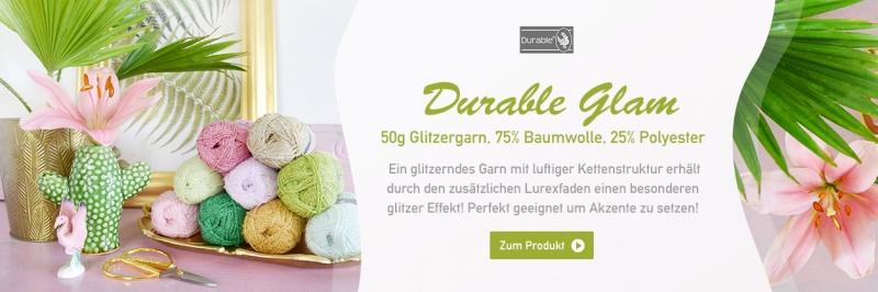 Durable Glam, 50g Glitzergarn