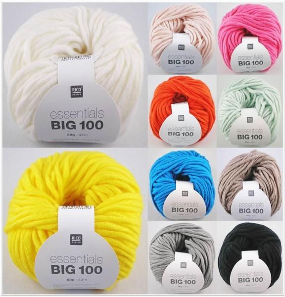Rico Design Essentials Big 100, 50g-Knäuel
