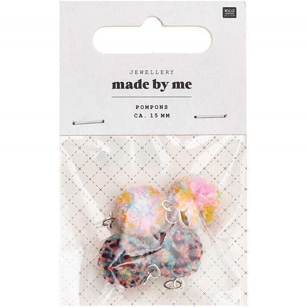 Rico Design Mini Pompons Multicolor Mix (No. 7094.69.08 )