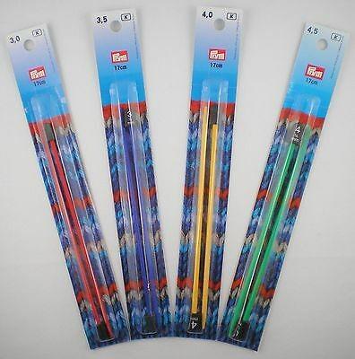 Prym Kinder Stricknadeln 17cm lang in verschiedenen Stärken