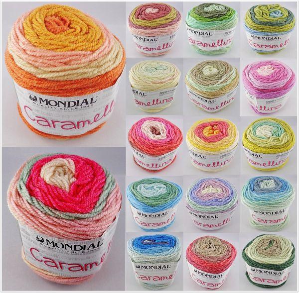 Mondial Caramellina, 50g Farbverlaufsgarn