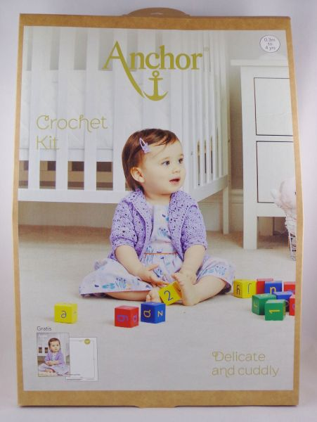 Anchor Crochet Kit Delicate And Cuddly Mimi Lilac