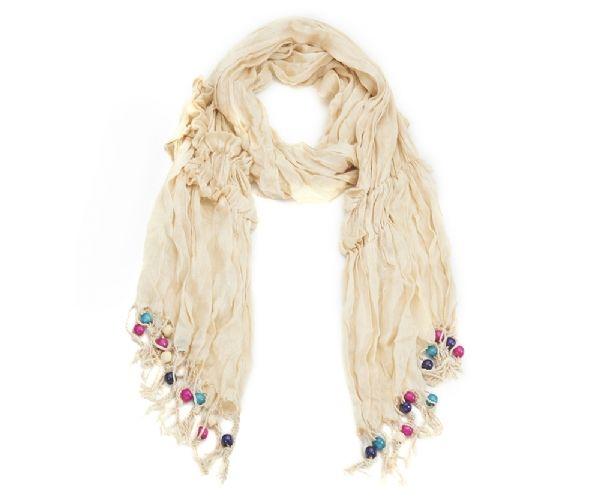 Knitter-Schal - creme 55161