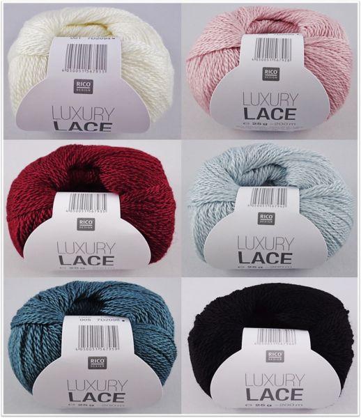 Rico Luxury Lace, 25g Lacegarn