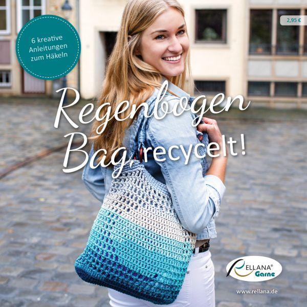 Rellana Regenbogen Bag,recycelt !