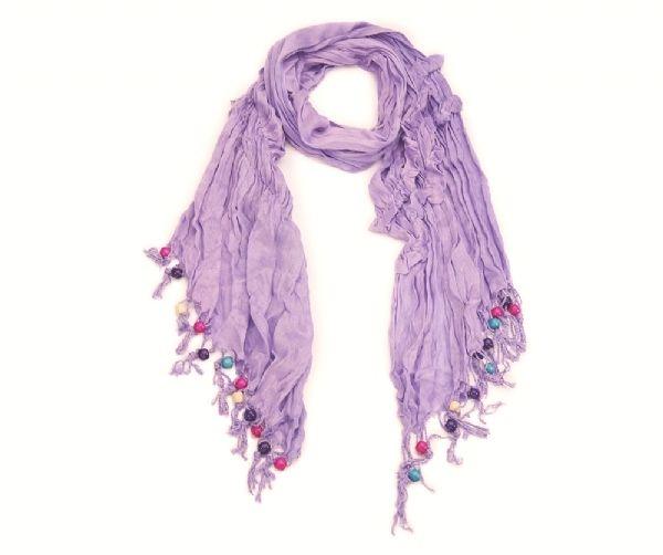 Knitter-Schal - lila 55160
