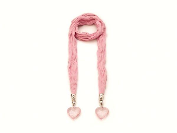 Schal - Halstuch - rosa 52288