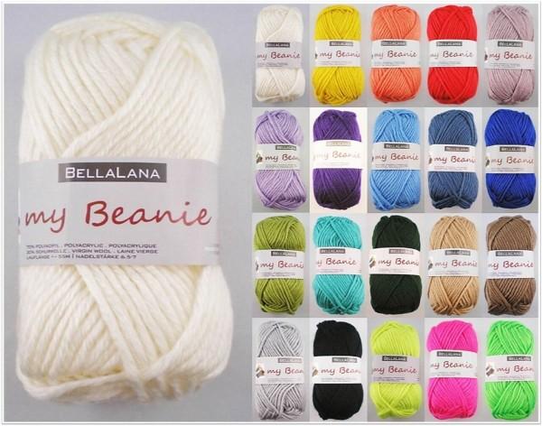 BellaLana My Beanie, 50g Mützenhäkelgarn