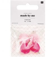 Rico Design Mini Pompons Neon Pink Mix (No. 7094.69.01 )