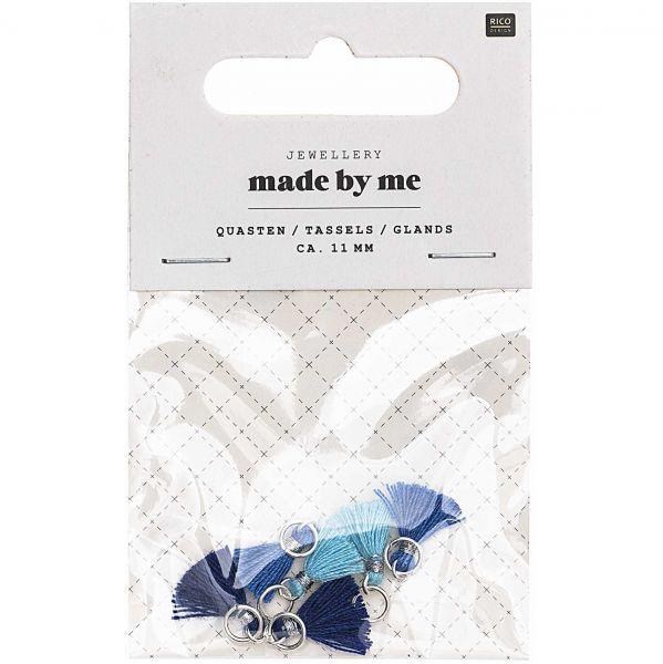 Rico Mini Quasten Blau Mix (No. 7094.69.34)