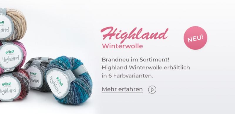 Gründl Highland, 50g Winterwolle