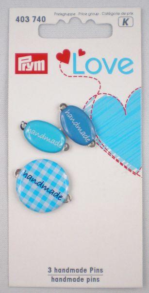 Prym Love Label blau-sortiert 403 740