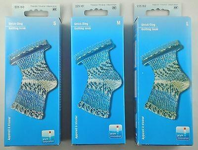 Prym Strick-Ding mit Abstricknadel und Anleitung zum Socken stricken, verschiedene Größen