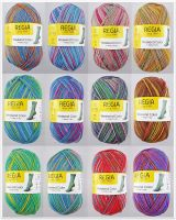 Regia Weekend Color, 100g Sockenwolle 4-fach
