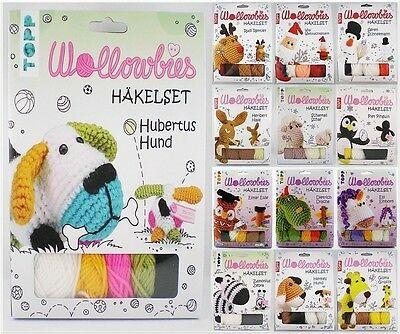 TOPP Häkelset Wollowbies mit Material und Anleitung