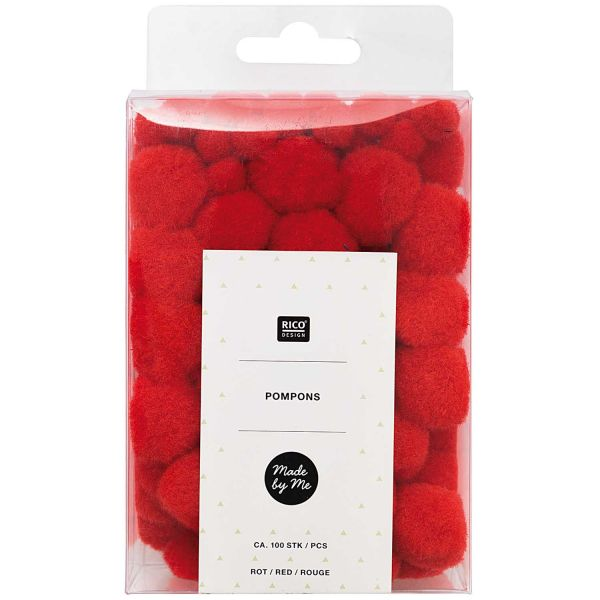 Rico Pompons Rot (No. 08758.00.54)