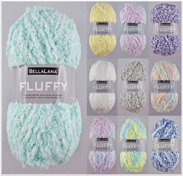 BellaLana Fluffy, 50g Kuschelwolle