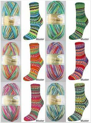 Rellana Flotte Socke Mississippi, 100g Sockenwolle 4-fach