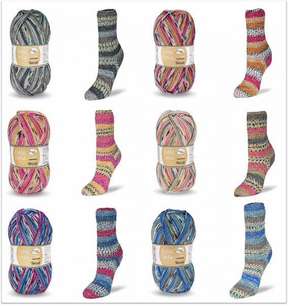 Flotte Socke Tencel, 100g Sockenwolle 4-fach