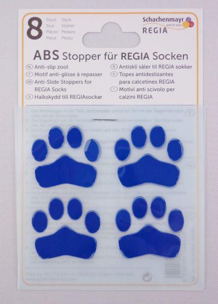 ABS-Stopper Blau für Regia Socken