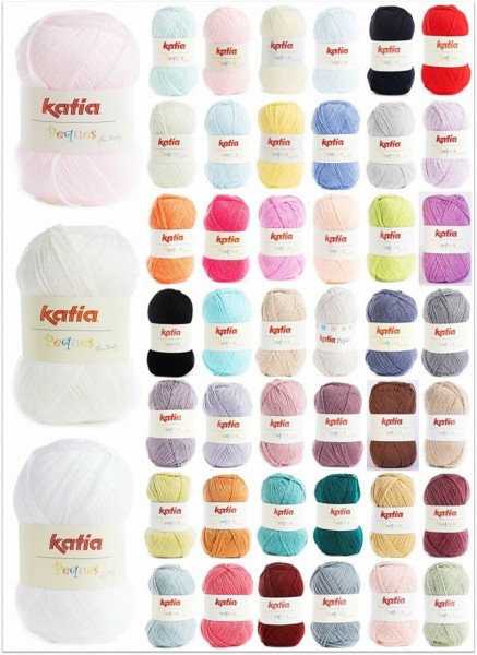 Katia Peques (for Baby), 50g Babywolle