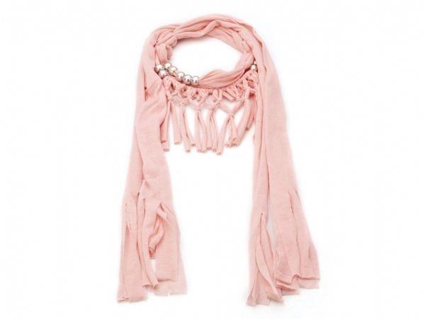 Collier-Schal - rosa 52735