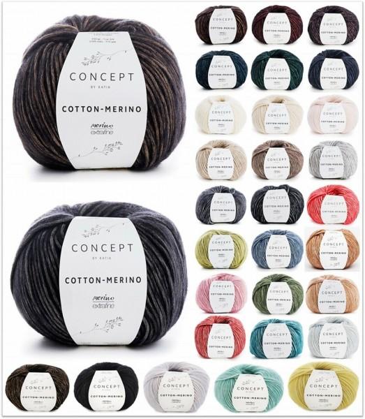 Katia Concept Cotton Merino, 50g-Knäuel