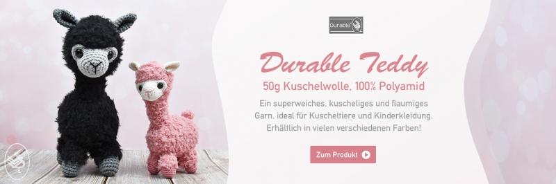 Durable Teddy, 50g Kuschelwolle