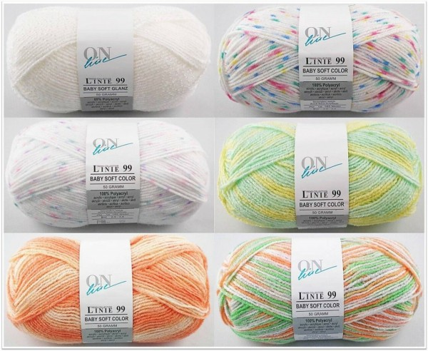 ONline Baby Soft Glanz & Color, 50g Babywolle