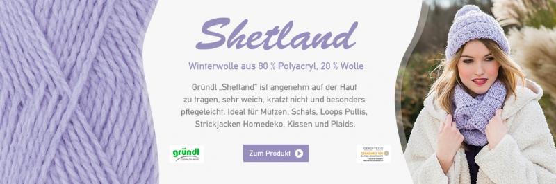 Gründl Shetland, 100g-Knäuel