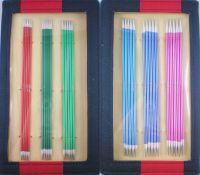 Knit Pro Zing 20cm Nadelspielset in Kunstledertasche