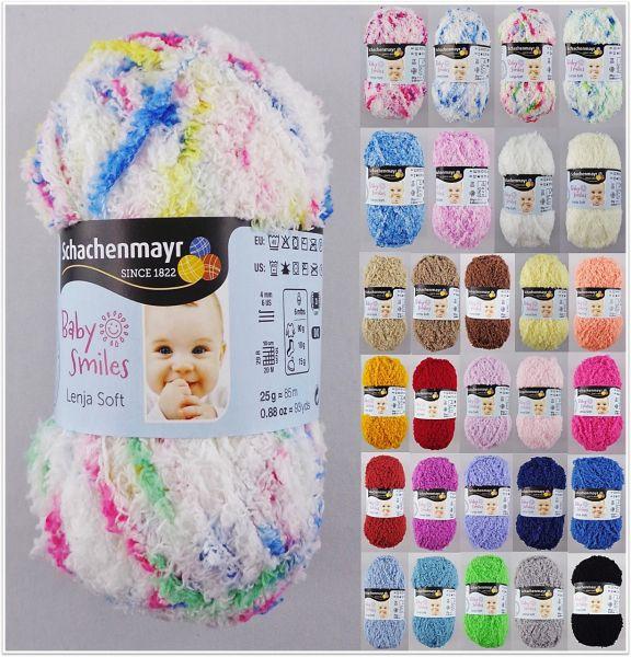Schachenmayr Baby Smiles Lenja Soft, 25g Babywolle