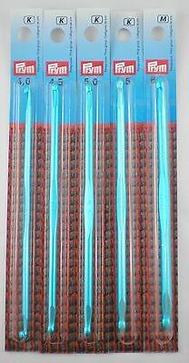Prym Tunesische Häkelnadeln (beidseitig) 15cm lang aus Aluminium in verschiedenen Stärken