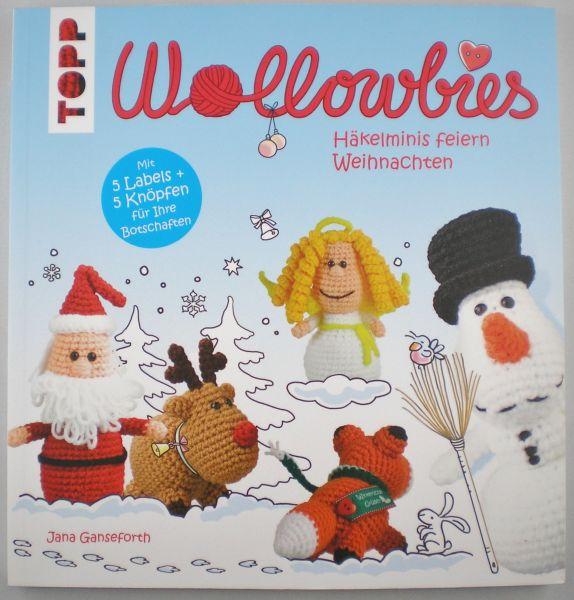 TOPP-Wollowbies Häkelminis feiern Weihnachten