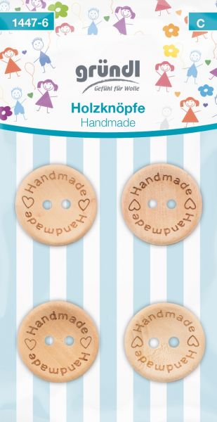 Gründl Holzknöpfe Handmade 1447-6