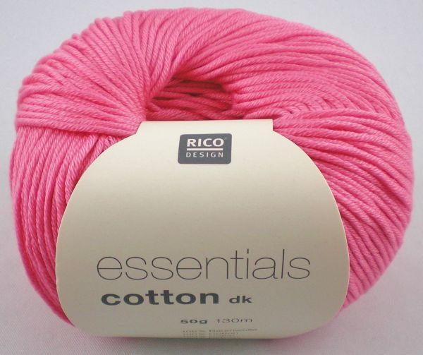 50g Rico Design Essentials Cotton dk