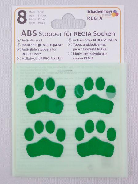 ABS-Stopper Grün für Regia Socken