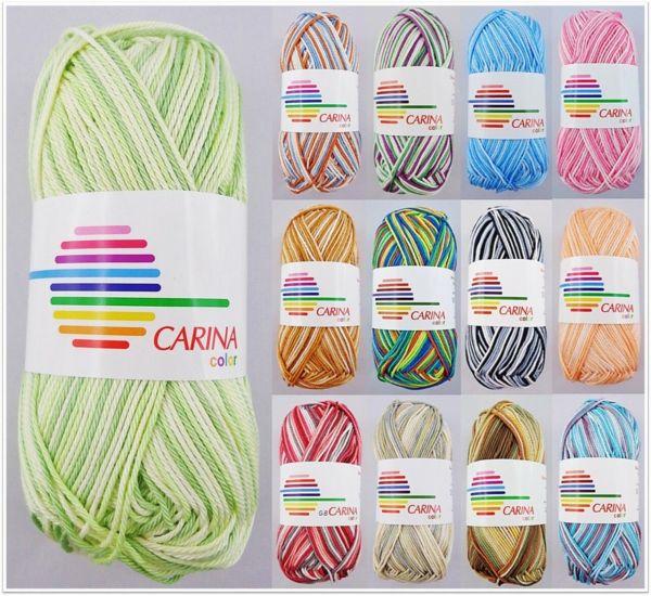 G-B Carina Color, 50g Basicgarn Baumwolle