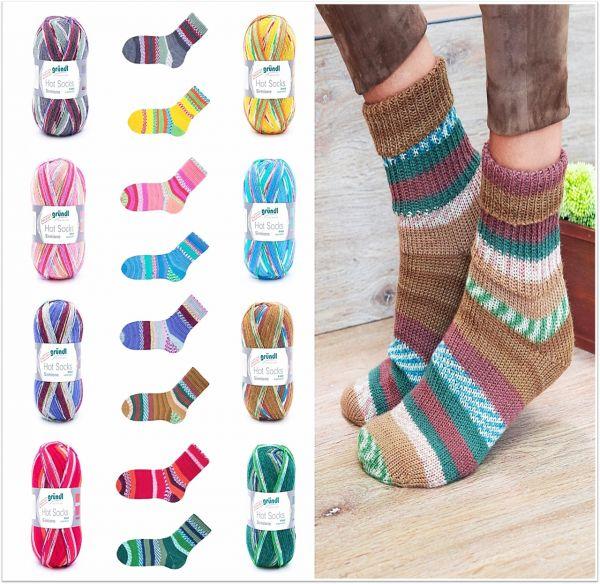 Gründl Hot Socks Sirmione, 100g Sockenwolle 4-fach