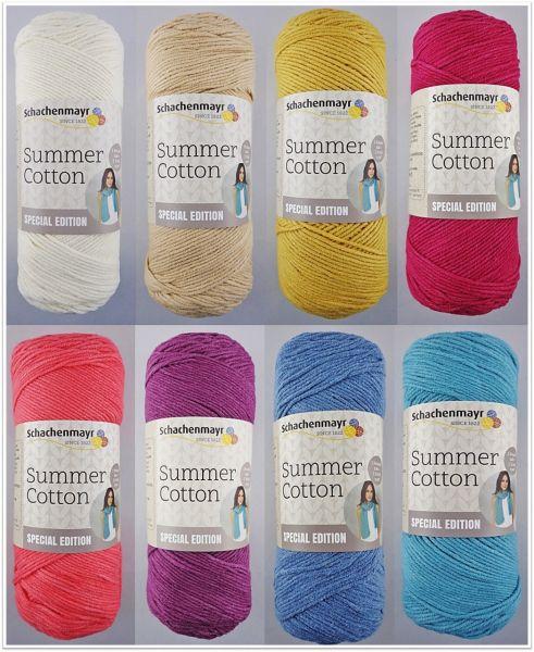 Schachenmayr Summer Cotton - Special Edition, 150g Sommergarn